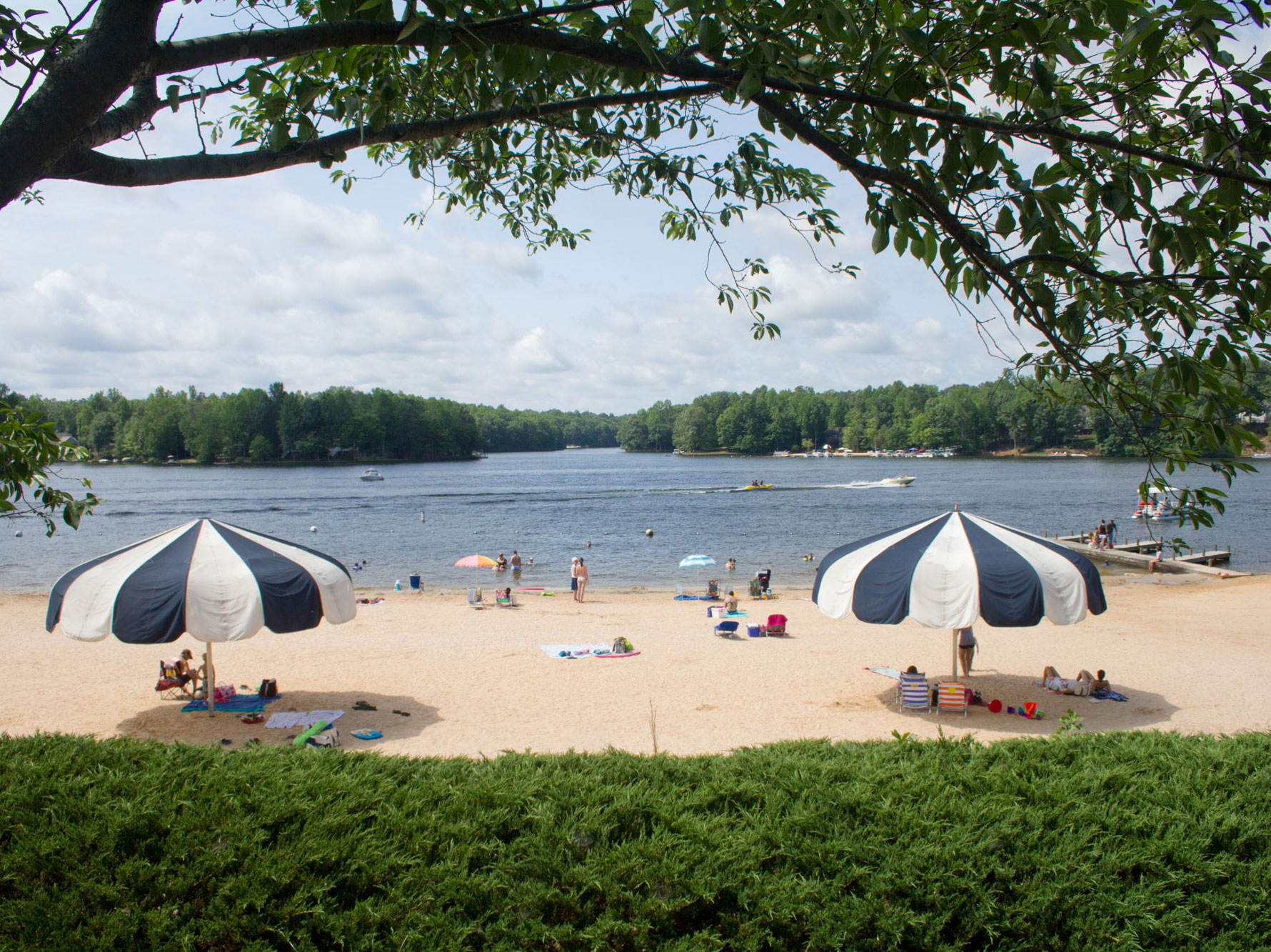 The Beach at Lake Monticello